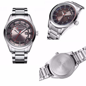 cacc6c95a03 Relógio Curren Date Luxo Frete Grátis Masculino - Relógios De Pulso ...
