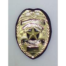 Placa Criminalistica Investigacion Criminal Perito Policia