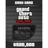Gta V 5 Bull Shark Cash Card $500.000 Ps4 Ps3 Xbox Pc