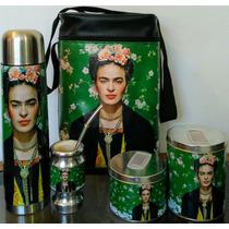 Set Matero Frida Kahlo 6 Componentes.-completo.