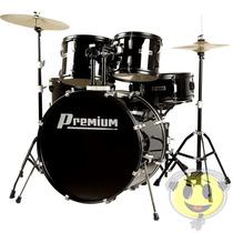 Bateria Musical Premium Dx722 Completa Bk - Loja Kadu Som