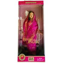 Juguete Barbie Princesa De La India Muñecas Del Mundo