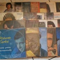 Lote 30 Lps Roberto Carlos