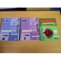 Lote Com 43 Apostilas Anglo Ensino Médio 2012
