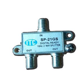 Divisor De Sinal De Tv Uhf Vhf 2x1 Itc 1 Ghz - Kit C/2 Unid