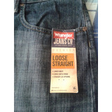 Blue Jeans Wrangler Original 100% Talla 36x32