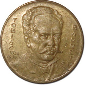 Moeda De 1000 Réis Tobias Barreto 1939 Perfeita