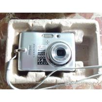 Camera Fotografica Nikon Coolpix,com Defeito,leia A Descriça