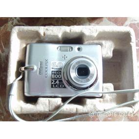 Camera Nikon Coolpix,com Defeito,leia A Descrição