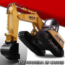Pc Escavadeira De Controle Remoto Rc 15 Canais Frete Gratis