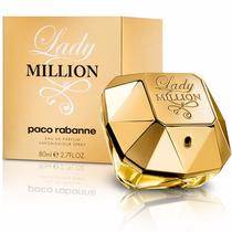 Lady Million 80ml - 100% Original E Lacrado - Importado