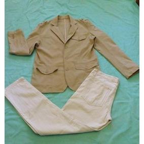 Pantalon De Hombre Jeans Entubado De Mezclilla