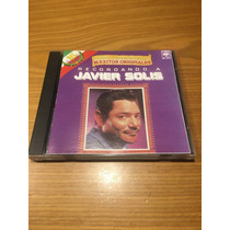 Javier Solis Recordando A Javier Solis Cd 16 Exitos
