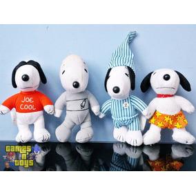 Lote Bonecos Pelucia Snoopy Coleção Mc Donalds Peanuts