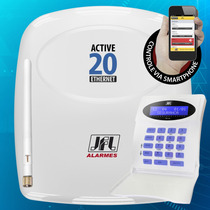 Central De Alarme Monitorável Active 20 Ethernet Jfl