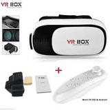 Lentes Vr Box 2.0 Con Mando Bluetooth Gratis