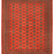 Alfombra / Tapete Handmade Afghan Bokhara Rug, Rose And Pink