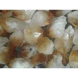 Roca Cristal Citrino Pico Puntas Mineral