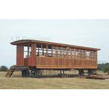 Vagon De Madera Cabaña Vivienda, Oficina Galpon 6x3m Tren