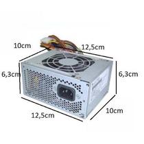Mini Fonte Atx Slim 300w Dell Hp Positivo 24 Pinos Garantia