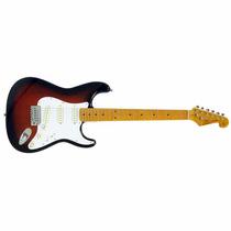 Guitarra Sx Sst 57 3 Singles Stratocaster 2ts C/ Bag