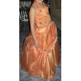 Vestido Largo De Fiesta Para Niña 5 A 7 Años