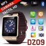 Reloj Celular Smartwatch Dz09 Tactil Camara Bt Sim Mp4 Libre