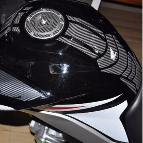 Protetor Tanque Tankpad Faixa Bocal Carbo Moto Honda Fan 160