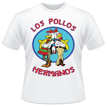 Camiseta Los Pollos Hermanos Breaking Bad Série Camisa