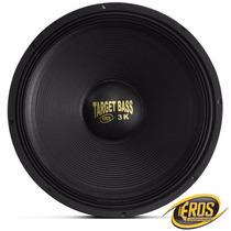 Subwoofer Eros 18 1500w Rms E-18 Target Bass 3k Galvanizado
