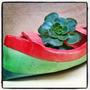 Macetas Ceramica Artesanal/botes/barcos/cactus/suculentas