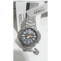 Relógio Citizen Aquamount Titanium Jp3050 55w Altidepthmeter