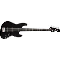 Baixo 4c Bk Squier By Fender Deluxe Jb Iv Active