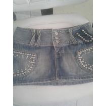 Saia Denúncia Jeans