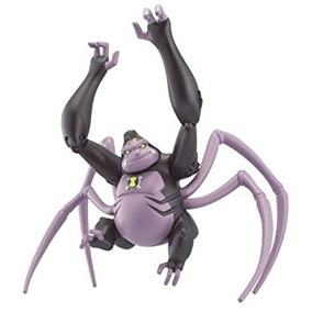 Juguete Mono Araña - Ben 10 Último Acción Figura Del Extran