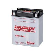 Bateria Com Solução Brandy - By-b14-a2 - Cb Cbx 750