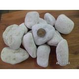 Piedra De Mármol Blanca Rodado Por Bolsa
