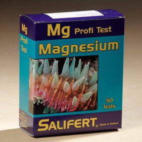 Teste Salifert Magnésio (mg) Aquário Marinho