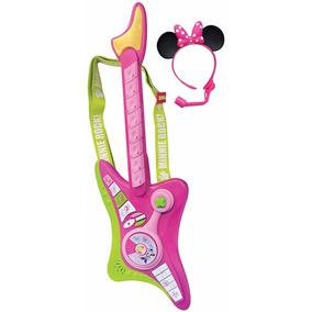 Disney Guitarra Eléctrica Minnie Bowtique