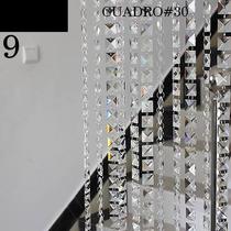 Tira De 50 Piedras De Cristal Cortado, Mayoreo Y Menudeo