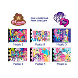 My Little Pony Mini Libretas De Notas Cotillon Equestria
