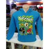 Blusa Moleton Angry Birds / Importada Original