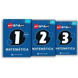 Lote 3 Libros Matemática Activados Puerto De Palos 2017