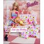 Sofá Com Almofadinhas Para Casa Da Boneca Barbie !