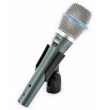 Micrófono Condenser Supercardioide Shure Beta 87 A Nuevo