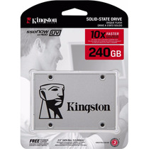 Hd Ssd Kingston 240gb Now Uv400 Sata 3 6gb/s 550mb/s Pronta
