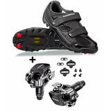 Sapatilha Shimano | Mtb Sh-m065l | + | Pedal Shimano M520