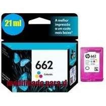 Cartucho Hp 662 Color (21 Ml) 1516, 2515, 2516, 3515, 3516