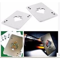 Destapador O Abridor En Forma De Naipe Poker