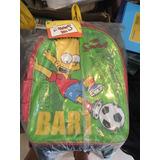 Mochila Con Carro Bart Simpson Original